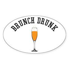 Brunch Drunk Sticker