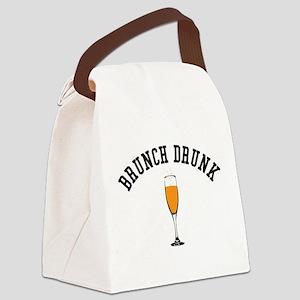 Brunch Drunk Canvas Lunch Bag