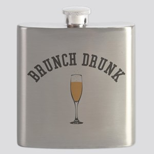 Brunch Drunk Flask