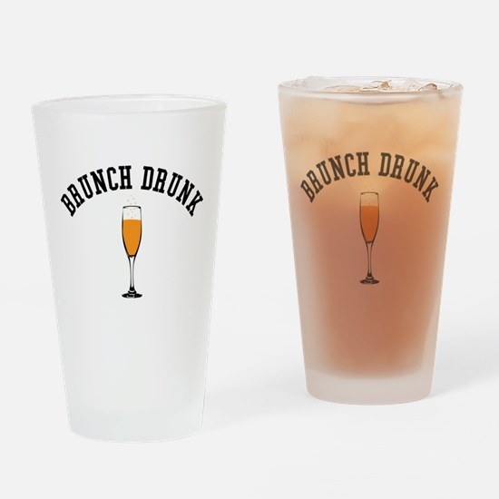 Brunch Drunk Drinking Glass