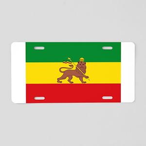 Ethiopia Flag Lion of Judah Rasta Reggae Aluminum