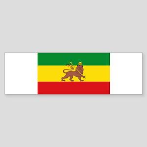 Ethiopia Flag Lion of Judah Rasta Reggae Bumper St