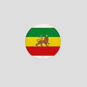 Ethiopia Flag Lion of Judah Rasta Reggae Mini Butt