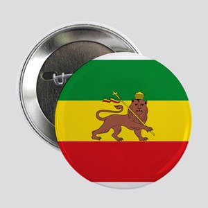 "Ethiopia Flag Lion of Judah Rasta Reggae 2.25"" But"