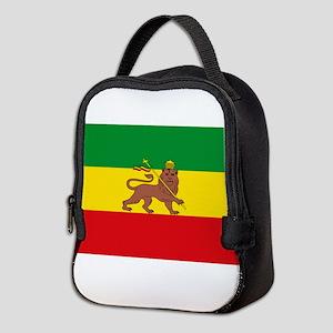 Ethiopia Flag Lion of Judah Rasta Reggae Neoprene