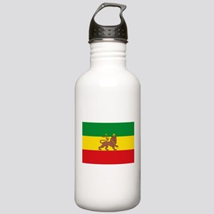 Ethiopia Flag Lion of Judah Rasta Reggae Water Bot