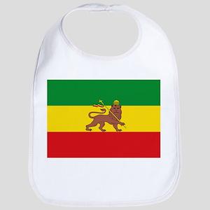 Ethiopia Flag Lion of Judah Rasta Reggae Bib