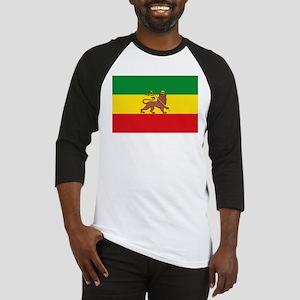Ethiopia Flag Lion of Judah Rasta Reggae Baseball