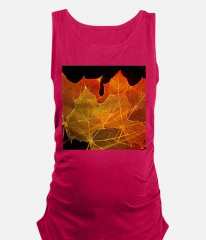 See through Leaves Maternity Tank Top