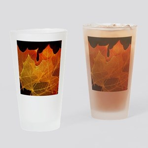 See through Leaves Drinking Glass