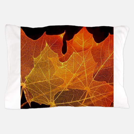 See through Leaves Pillow Case