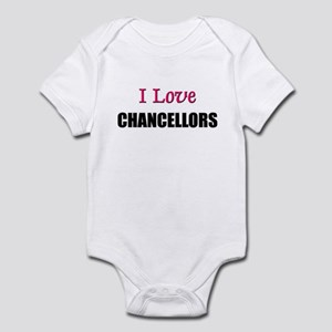 I Love CHANCELLORS Infant Bodysuit