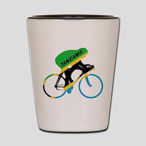 Tanzania Cycling Shot Glass