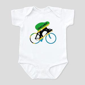 Tanzania Cycling Infant Bodysuit