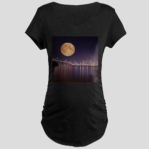 San Francisco Full Moon Maternity T-Shirt