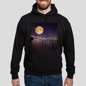 San Francisco Full Moon Hoodie (dark)