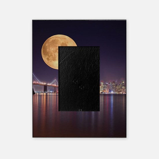 San Francisco Full Moon Picture Frame
