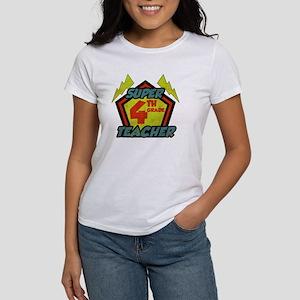 Super Fourth Grade Teacher Women's T-Shirt