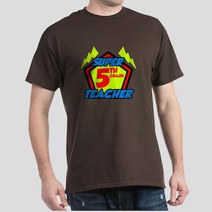 Super Fifth Grade Teacher Dark T-Shirt