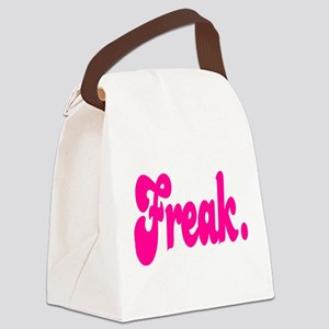 Freak. Canvas Lunch Bag