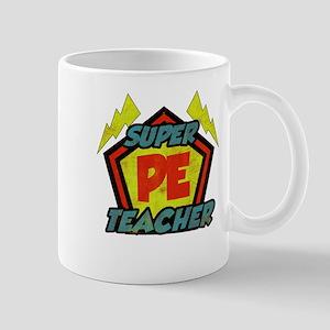 Super PE Teacher Mug