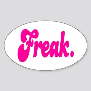 Freak. Sticker