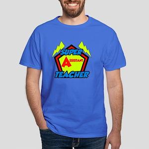 Super Assistant Teacher Dark T-Shirt