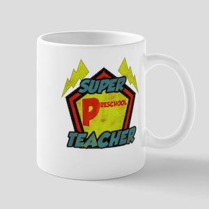 Super Preschool Teacher Mug