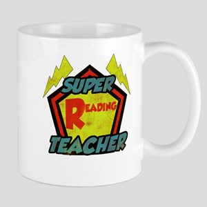 Super Reading Teacher Mug