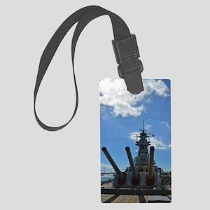 USS Missouri Large Luggage Tag