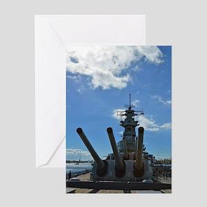 USS Missouri Greeting Card