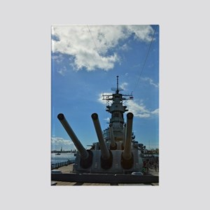 USS Missouri Rectangle Magnet
