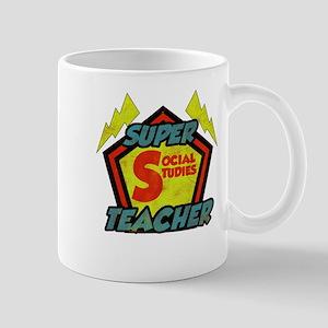 Super Social Studies Teacher Mug