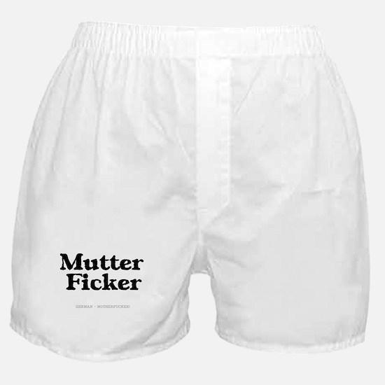 GERMAN - MOTHERFUCKER Boxer Shorts