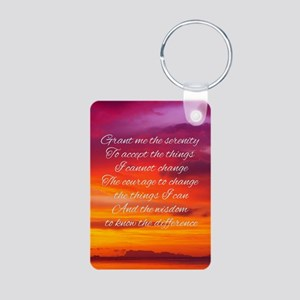 Serenity Prayer - Sunset Keychains