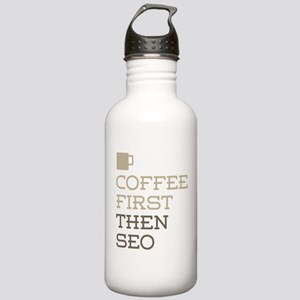 Coffee Then SEO Stainless Water Bottle 1.0L