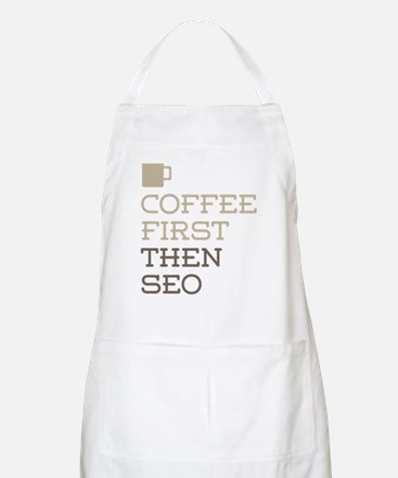 Coffee Then SEO Apron
