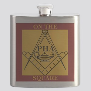 PHA on the square. Flask
