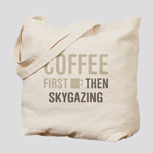 Coffee Then Skygazing Tote Bag