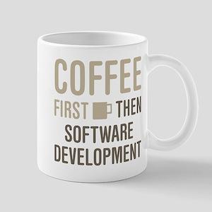 Coffee Then Software Development Mugs