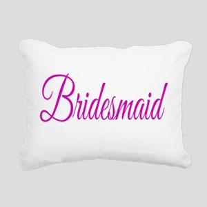 Bridesmaid Rectangular Canvas Pillow