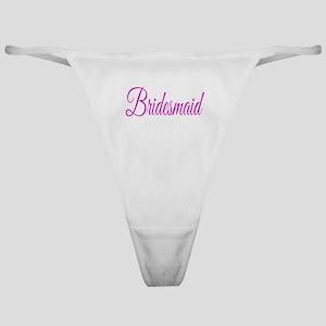 Bridesmaid Classic Thong
