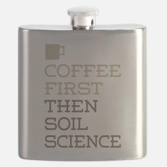 Coffee Then Soil Science Flask