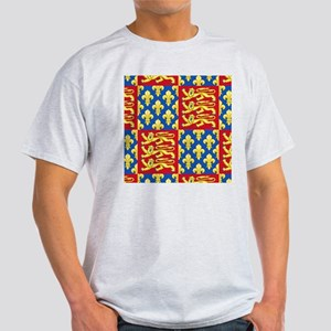 Royal Arms of England and France Light T-Shirt