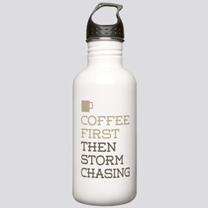 Coffee Then Storm Chas Stainless Water Bottle 1.0L