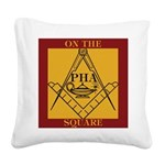 PHA on the square. Square Canvas Pillow