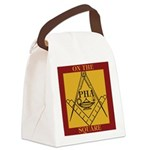 PHA on the square. Canvas Lunch Bag