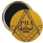 PHA on the square. Magnet