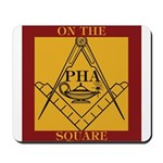 PHA on the square. Mousepad