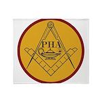 Prince Hall Light Throw Blanket